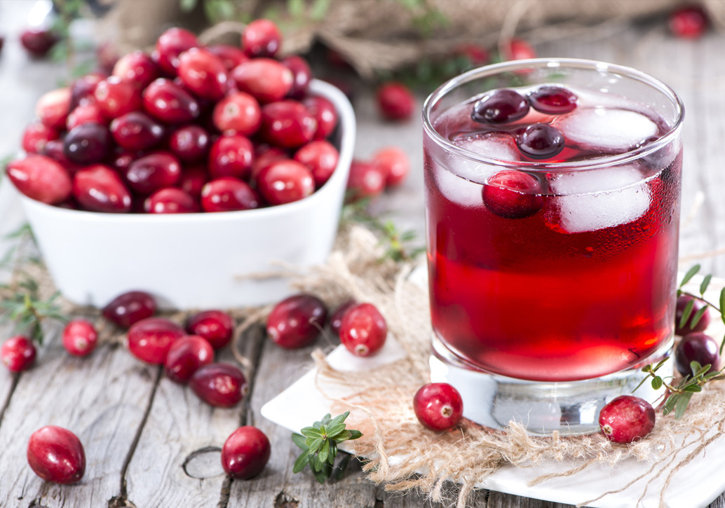 Cranberry Juice Can Stave Off Infections