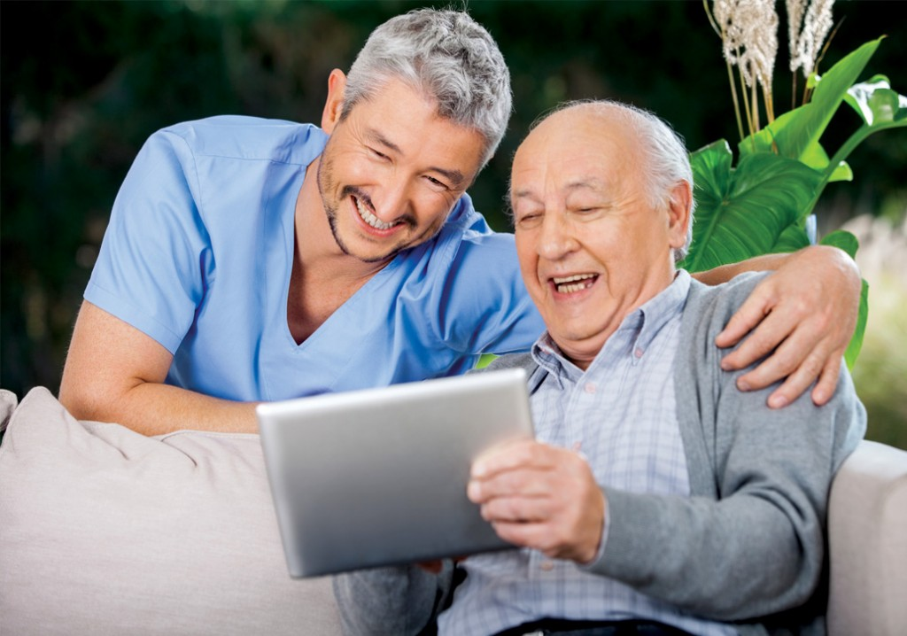 Leveraging Technology to Engage Family Caregivers